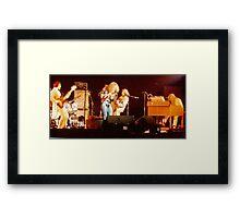 Jethro Tull Framed Print