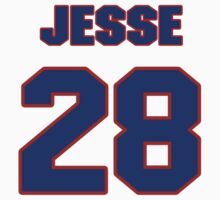 National baseball player Jesse Crain jersey 28 by imsport