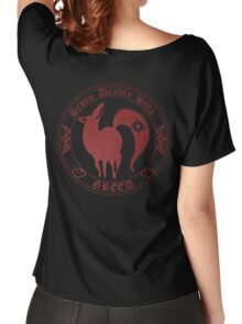Fox, The Greed Women's Relaxed Fit T-Shirt