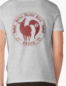 Fox, The Greed Mens V-Neck T-Shirt