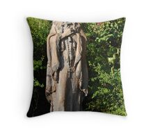 Lily of the Mohawks Throw Pillow