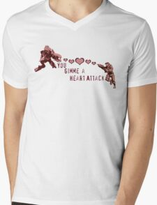 You Gimme a Heart Attack Mens V-Neck T-Shirt