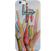 CODA - Children of Deaf Adults iPhone Case/Skin