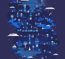 Midnight Blue by Dan Elijah Fajardo