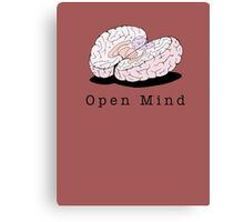 Open Mind Canvas Print