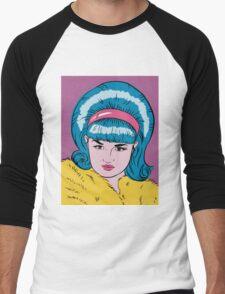 Miss Lacey Noel Design No. 1! (Bouffant) Men's Baseball ¾ T-Shirt