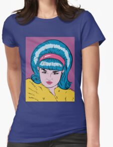 Miss Lacey Noel Design No. 1! (Bouffant) Womens Fitted T-Shirt