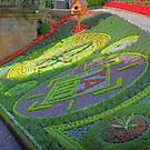 Floral Clock II by Tom Gomez