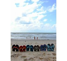 flip-flop set Photographic Print