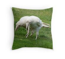Cut and Paste Throw Pillow