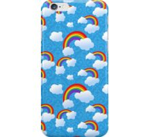 Clouds and rainbows iPhone Case/Skin