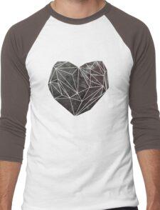 Heart Graphic 4 Men's Baseball ¾ T-Shirt