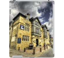 White Hart at Todmorden  iPad Case/Skin