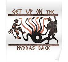 Get Up On The Hydra's Back Poster