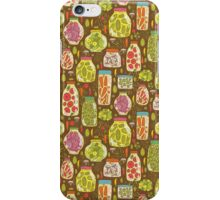 Autumn pickled vegetables iPhone Case/Skin