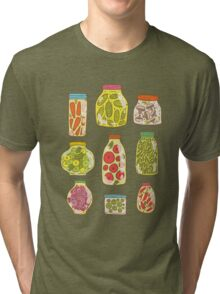 Autumn pickled vegetables Tri-blend T-Shirt