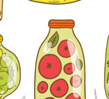 Autumn pickled vegetables Sticker