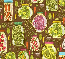 Autumn pickled vegetables by Anna Alekseeva