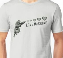 Master Chief Love Machine  Unisex T-Shirt