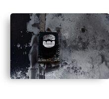 Burnt Meter Canvas Print