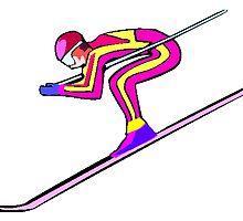 Ski Racer by kwg2200