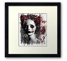 Harley Quinns valentines day Framed Print