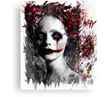 Harley Quinns valentines day Canvas Print