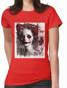 Harley Quinns valentines day Womens Fitted T-Shirt