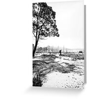 Bushwalking @ Lake King William Greeting Card