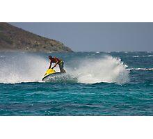 Caribbean Jet Ski 2 Photographic Print
