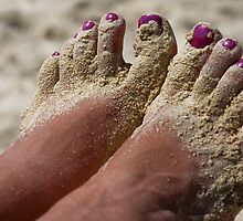 Sandy Toes by David Chappell