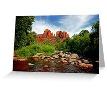 Cathedral Rock, Sedona Arizona Greeting Card