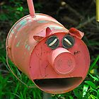 Pink Piggy # 10 by Penny Smith