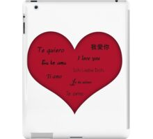 Heart Feelings iPad Case/Skin