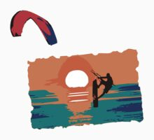 Kiting Tarifa by Grobie