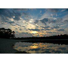 Painted Sunset II Photographic Print