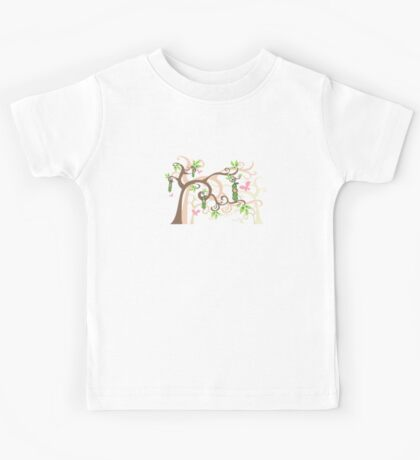 Magic Trees and Baby Girls in a Pod Kids Tee