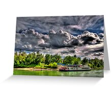 River Queen Greeting Card