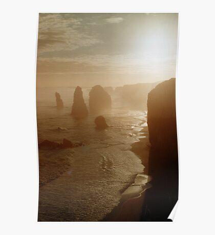 Twelve Apostles (Pentax K1000 shot) Poster