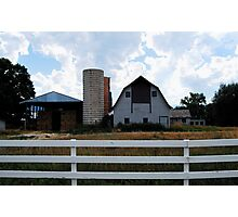 Barns of Boulder 4 Photographic Print
