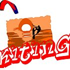 Kiting Tarifa by Grobie