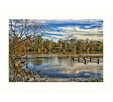 Alabama Flood Waters Art Print