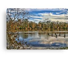 Alabama Flood Waters Canvas Print