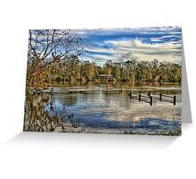 Alabama Flood Waters Greeting Card