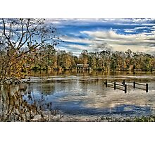 Alabama Flood Waters Photographic Print
