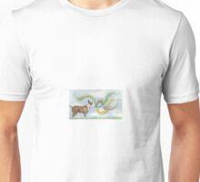 Bull Terrier Sniff Unisex T-Shirt