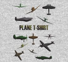 Plane T-Shirt by Sharon Stevens