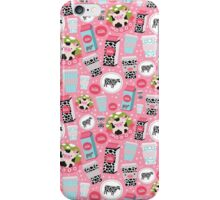 cow and milk iPhone Case/Skin