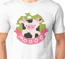 cow and milk Unisex T-Shirt
