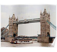 London's Number One Bridge Poster
